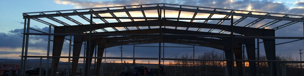 Structural steel construction in Grande Prairie, Dawson Creek, and Fort St John