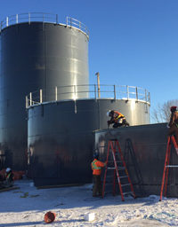 Field Erected Tanks Dawson Creek, Fort St John, Grande Prairie